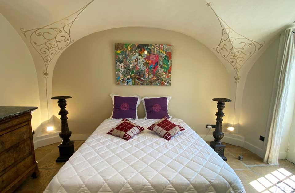 "Chateau des Janroux : La chambre ""Chardonnay"""