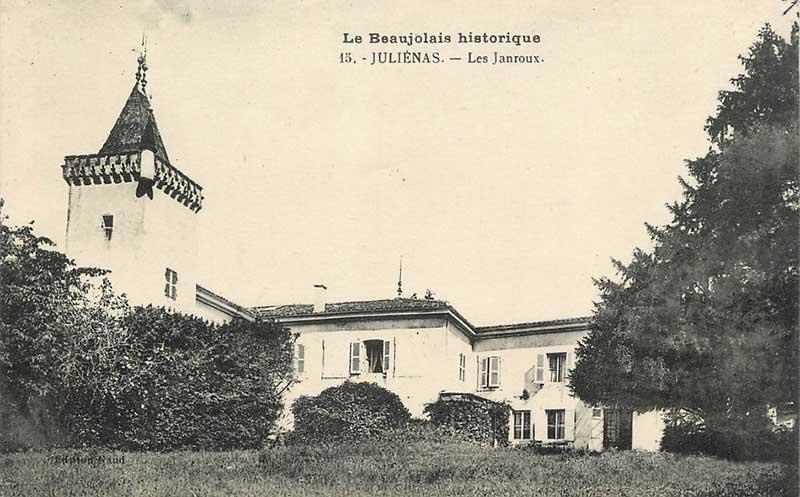 Château des Janroux - Historique