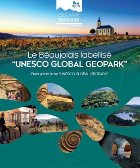 Le Beaujolais labellisé : UNESCO Global Geopark